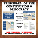 Principles of the Constitution & Democracy - Civics