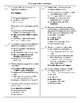Principles of the Constitution Practice Multiple Choice Regents Review Answers