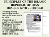 Principles of the Islamic Republic of Iran Reading with Questions - Global/World