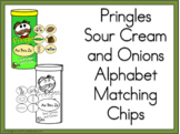Pringles Sour Cream and Onions Alphabet Matching Chips