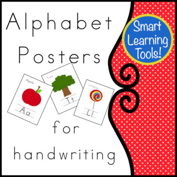 Alphabet Posters for handwriting