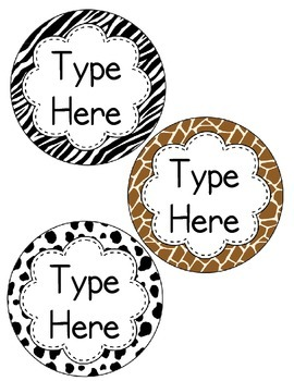 Print Alphabet Circles