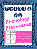 Print N' Go Phonology Flashcards