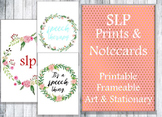 Print Art and Notecards for SLPs