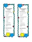 Print Concepts Bookmark