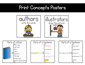 Print Concepts (Reading Extensions)