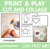 Print & Create: Cut and Collage Art