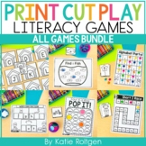 Print, Cut, Play Literacy Games GROWING PACK
