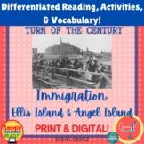 Immigration: Ellis Island & Angel Island Granny K Project,