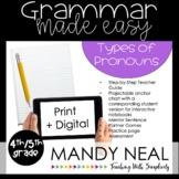 Print + Digital Fourth and Fifth Grade Grammar (Types of P