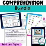 Print Digital Listening Comprehension Bundle No Prep Speec
