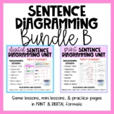Print & Digital Sentence Diagramming Units