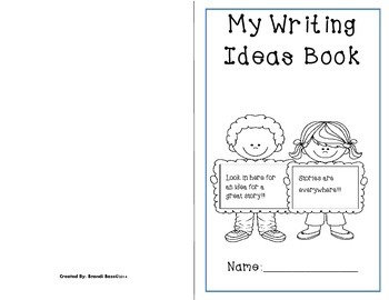 Print! Fold! Staple! Writers' Workshop Writing Ideas Book