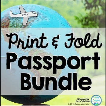 {Print, Fold, and Go} Passport Bundle