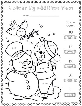 Print & GO! Addition and Subtraction Practice Worksheets