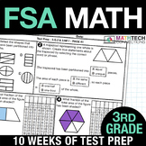 FSA Math Test Prep Homework - BUNDLE -