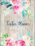 *SALE* Print & Go 2017-2018 Floral Teacher Planner