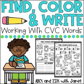 Print & Go CVC Find and Color