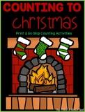 Print & Go: Christmas Skip Counting