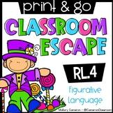 Print & Go Escape Room: Figurative Language (RL.4)