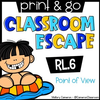 Print & Go Escape Room: Point of View (RL.6)