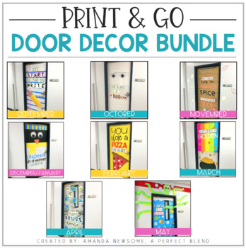 Print & Go Door Decor Kit: Growing Bundle