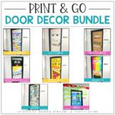 Print & Go Door Decor Kit: Bundle