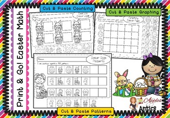 Print & Go! Easter Math - FREEBIE
