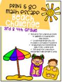 Print & Go Escape Room - Math - Beach