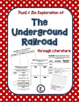 Print & Go Exploration of the Underground Railroad through Literature
