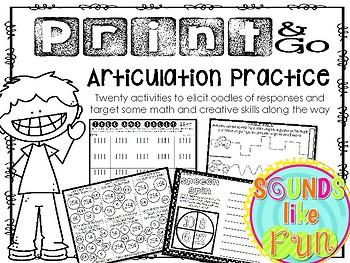 Print & Go Articulation Practice