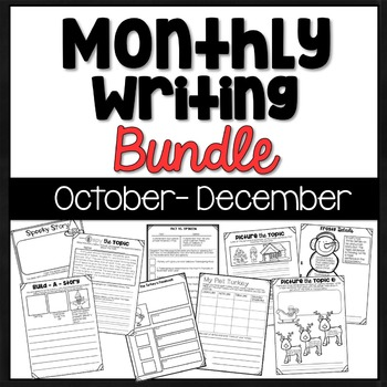 Print & Go Monthly Writing Bundle