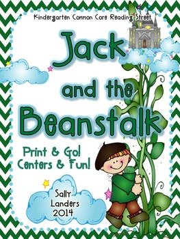 Print & Go Pack! Jack and the Beanstalk  {Common Core Reading Street}