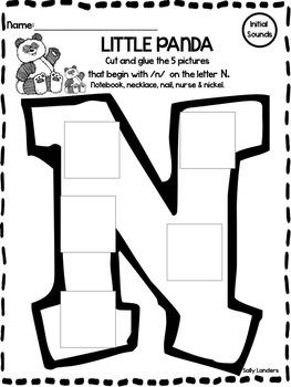 Print & Go Pack! LITTLE PANDA {Kindergarten Reading Street Common Core}
