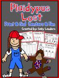 Print & Go Pack! Plaidypus Lost {Kindergarten Common Core Reading Street}