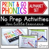 Print & Go Phonics ~ Alphabet Games