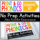 Print & Go Phonics ~ Digraphs