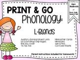 Print & Go Phonology: L Blends