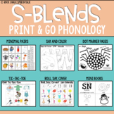 Print and Go Phonology: S Blends