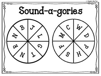 Print & Go: Sound-a-gories