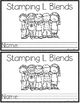 Print & Go Stamping Center: L-Blends {Mini Student Booklets}