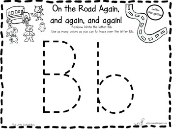 Print & Go Pack! The Little School Bus {Kindergarten Common Core Reading Street}