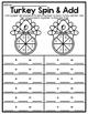 Print & Go - Turkey Math Stations