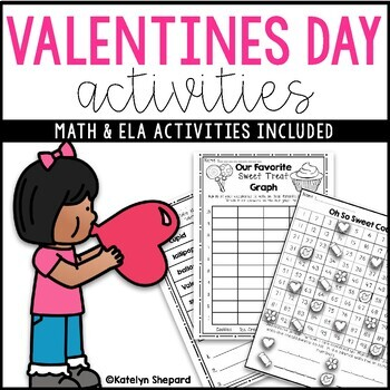 Print & Go Valentine's Day Treat Activities!