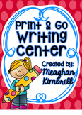 Print & Go Writing Center #freshsqueezedfriday