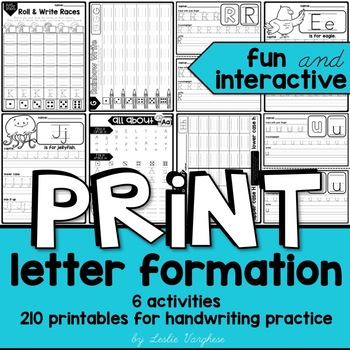 Handwriting Practice Upper And Lower Case Teaching Resources ...