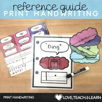 Print Handwriting Practice : Reference Guide