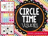 Print, Laminate, Go: CIRCLE TIME VISUALS
