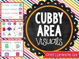 Print, Laminate, Go: CUBBY AREA VISUALS