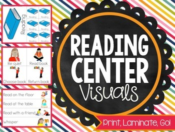 Print, Laminate, Go: READING CENTER VISUALS